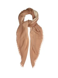 Bottega Veneta Degrade Wool Scarf Beige Multi