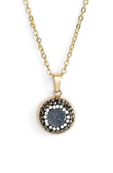 Women's Elise M. 'Aria' Pendant Necklace Navy