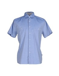 Geox Shirts Shirts Men Sky Blue
