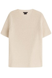 Theory Wool Cashmere Top Beige