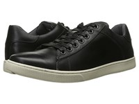 Steve Madden Ringwald Black Leather Men's Lace Up Casual Shoes