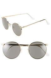 Randolph Engineering 'P3 Submariner' 49Mm Sunglasses Gold Grey