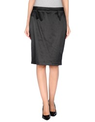 Trou Aux Biches Skirts Knee Length Skirts Women Black