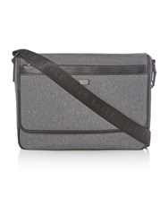 Ted Baker Nano Contrast Nylon Messenger Bag Grey