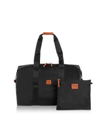 Bric's X Bag Medium Foldable Last Minute Holdall In A Pouch Black