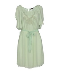 Angelina Folies Short Dresses Light Green