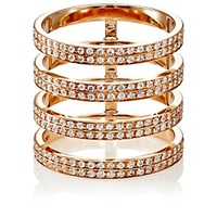 Repossi Women's Berbere Monotype 4 Band Cage Ring Pink