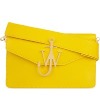 J.W.Anderson Jw Anderson Anchor Logo Leather Shoulder Bag Yellow
