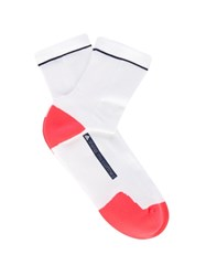 Adidas By Stella Mccartney Performance Ankle Socks White Multi