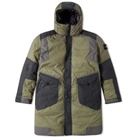 Stone Island Resin T Shell Down Ice Jacket Green