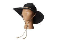 San Diego Hat Company Rbl4782 Chin Cord Ribbon Floppy Black Traditional Hats