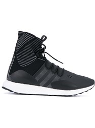 Y3 Sport 'Future' Hi Top Sneakers Black