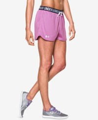 Under Armour Play Up Mesh Shorts Verve Violet
