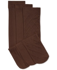 Charter Club Women's Basic Trouser Socks 3 Pack Only At Macy's