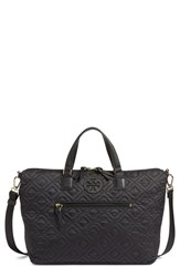 Tory Burch 'Ella' Quilted Nylon Satchel