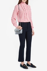 Paul Joe Women S Chamfort Ruffle Shirt Boutique1 Pink