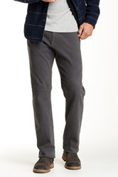 Agave Waterman Glove Touch Relaxed Cut Straight Leg Jean Gray