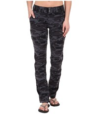 Columbia Saturday Trail Printed Pants Black Camo Women's Casual Pants