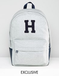 Tommy Hilfiger Varsity Backpack Exclusive To Asos In Grey Navy