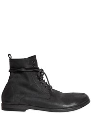 Marsell 10Mm Lace Up Soft Leather Boots