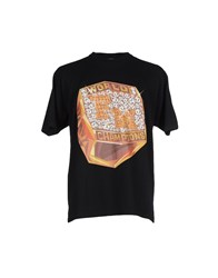 Franklin And Marshall Topwear T Shirts Men Black