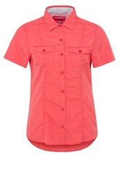 Craghoppers Nosilife Darla Blouse Sunset Light Red