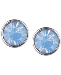 Lonna And Lilly Silver Tone Glass Stone Earrings