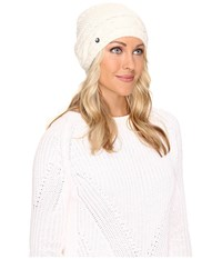 Ugg Cable Oversized Beanie Ivory Multi Cold Weather Hats Bone