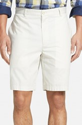 Men's Big And Tall Vineyard Vines 'Summer' Flat Front Twill Shorts Stone Beige