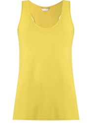 Lygia And Nanny Scoop Neck Tank Top Yellow And Orange