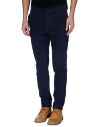 Met And Friends Casual Pants Dark Blue