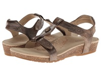 Aetrex Lori Adjustable Quarter Strap Bronze Women's Sandals