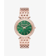 Darci Pave Rose Gold Tone Watch