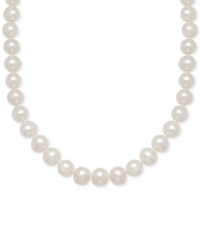 Honora Style Freshwater Cultured Pearl 7 8Mm Strand Necklace In 14K Gold