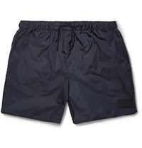 Acne Studios Perry Short Length Swim Shorts Blue