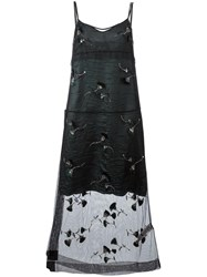 N 21 No21 Floral Overlay Slip Dress Green
