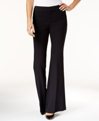 Inc International Concepts Flare Leg Pants Only At Macy's Deep Black