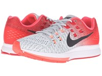 Nike Air Zoom Structure 19 Pure Platinum Black Bright Crimson University Red Women's Running Shoes White