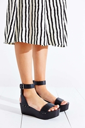 Kelsi Dagger Brooklyn Pietra Platform Wedge Sandal Black