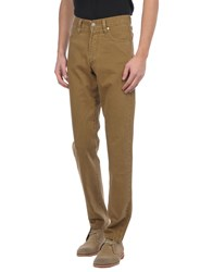 Armani Jeans Trousers Casual Trousers Men Camel