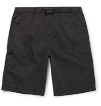 Stussy Washed Cotton Shorts Black