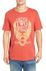 Lucky Brand Men's 'Forever Two Wheels' Graphic T Shirt