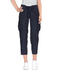 Juicy Couture Trousers Casual Trousers Women Dark Blue