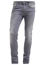 Gas Jeans Gas Sax Zip Slim Fit Jeans Moon Grey Light Grey
