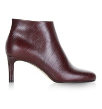 Hobbs Lizzy Ankle Boots Red