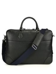 Dunhill Boston Double Gusset Briefcase Black
