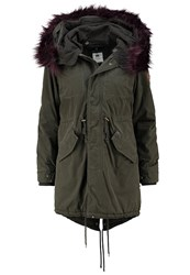 Khujo Methone Winter Coat Olive