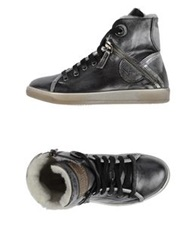 Manas Design Manas High Tops And Trainers Grey