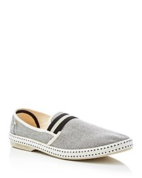 Rivieras College Yale Slip On Sneakers Grey