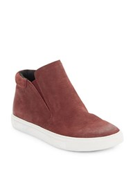 Kenneth Cole Kalvin Leather Sports Chukkas Brick Red